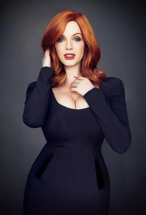 The Stunning Christina Hendricks